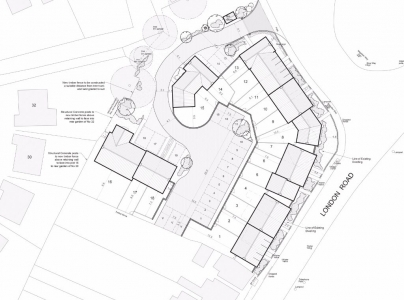 Architect 4 architects site layout plan, spalding