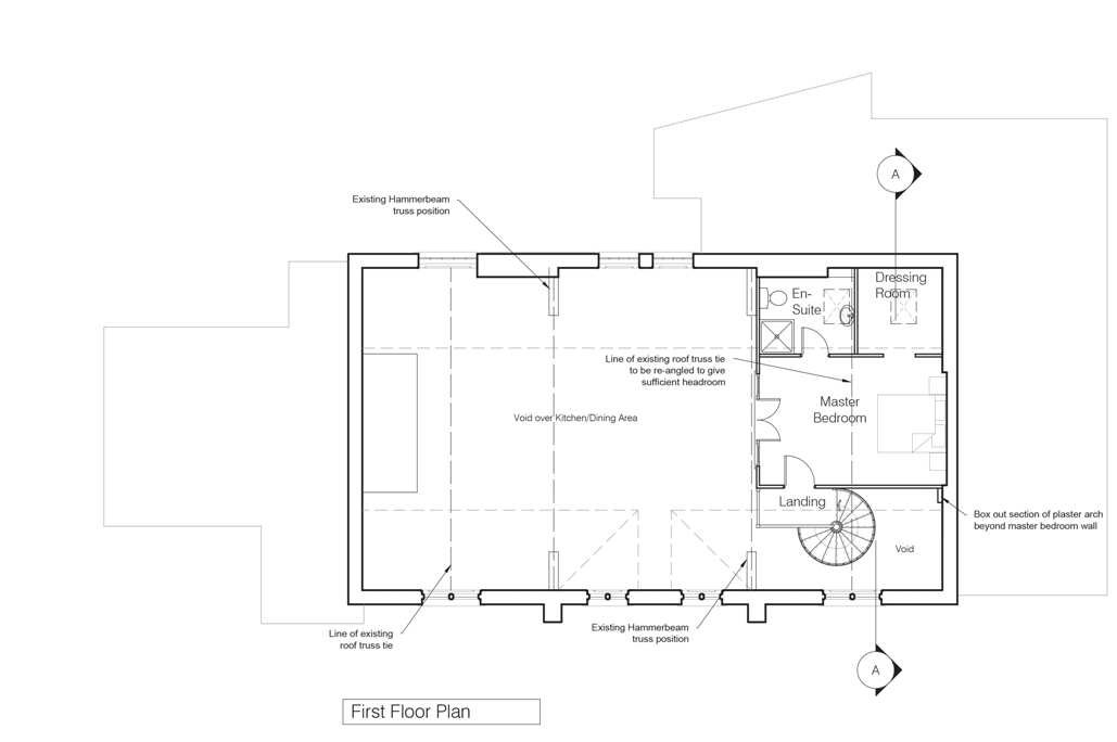 Architects conversion design, architect plans drawings renovation
