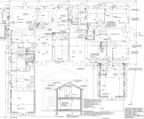 Architects conversion design, architect plans drawings renovation restoration